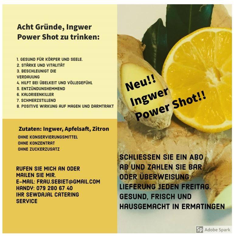 Ingwer Power Shot