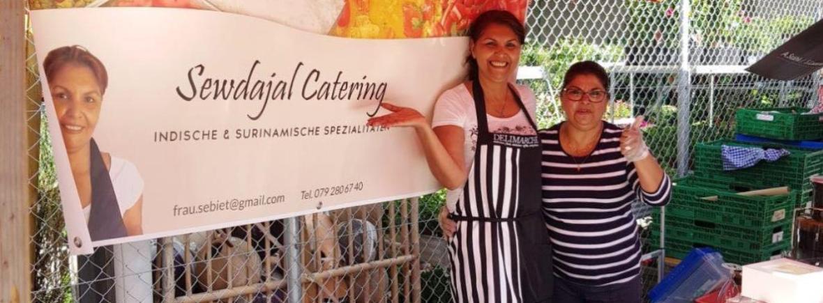 Sewdajal Catering Surinamisch Indisch Essen Party Event Schweiz