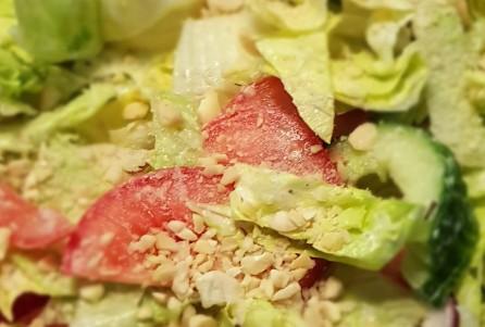 Frische Salat vom Land